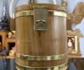龙婆本庙 招财守财存钱木桶