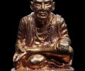 """缅甸祖师""""Po Po Wong""""普普翁,古巴api哇2560年加持发行,师父共制作133尊"""
