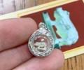 龙婆本顶级冠兰圣物 佛历2541年 招财好命猪 纯银材质